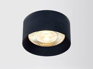 Lampada da soffitto a LED in alluminio verniciato a polvere FOUR 111S