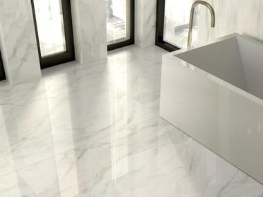 Pavimento/rivestimento in gres porcellanato effetto marmo FOYER ROYAL DELICATE