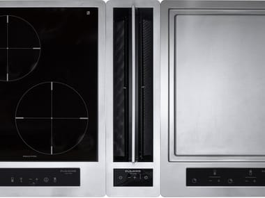 Professional stainless steel downdraft with touch controls Class A+ FPHD 51 TS X | Cooker hood