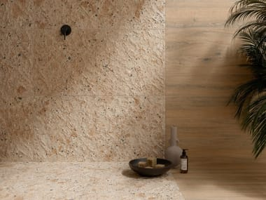 Pavimento/rivestimento in gres porcellanato effetto pietra FRAGMENTA FULL BODY ARLECCHINO