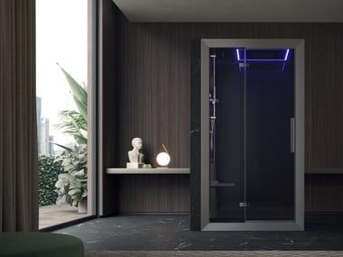 Cabina de ducha multifunción con baño de vapor FRAME 120