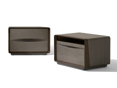 Rectangular maple bedside table with drawers FRAME | Bedside table