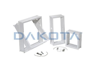 Frame for sliding glass brick FRAME FOR GLASS BLOCK