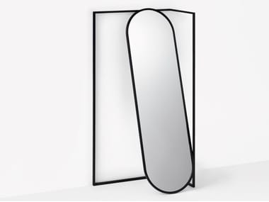 Freestanding oval framed mirror FRAME | Freestanding mirror