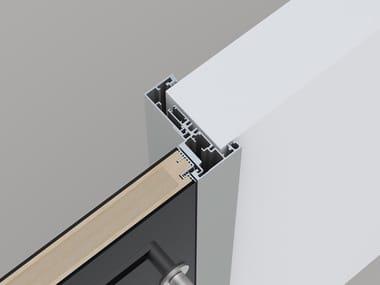 Hinged flush-fitting door FRAME