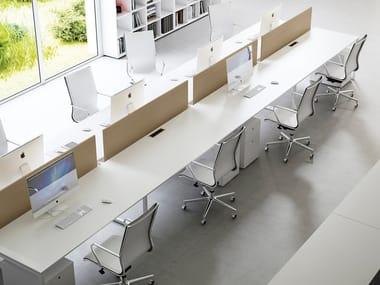 Multiple office workstation FRAMEWORK 2.0   Multiple office workstation