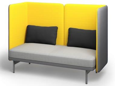 Upholstered high-back fabric sofa FRANKIE | Sofa