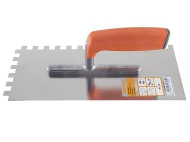 Putty knives FRATTONE DENTATO INOX
