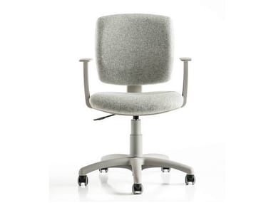 Task chair with 5-Spoke base with armrests FREE