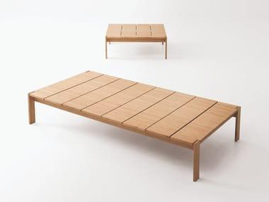 Tavolino da giardino in bambù FREI | Tavolino da giardino