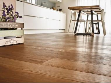 Floating prefinished wooden parquet FRENCH OAK | OIL FINISHED IRON
