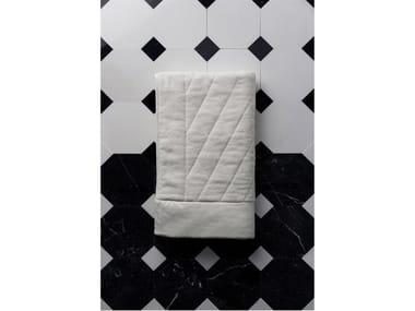 Tappeto per bagno rettangolare FRETTE | Tappeto per bagno
