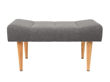 Upholstered fabric bench FREY