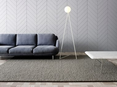 Rectangular wool rug FREYJA