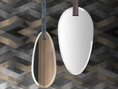 Oval wall-mounted mirror FRIDA & ADELE