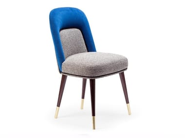 Upholstered fabric chair FRIDA | Chair