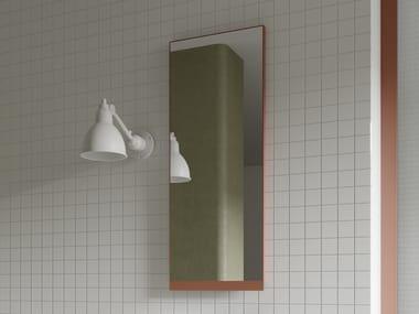 Rectangular wall-mounted bathroom mirror FRIEZE | Framed mirror