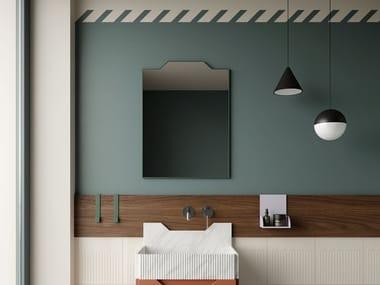 Wall-mounted bathroom mirror FRIEZE | Wall-mounted mirror