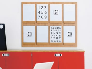 Expositor de parede para folhetos FRONT | Expositor de parede