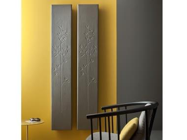 Vertical Livingstone® panel radiator FROSK