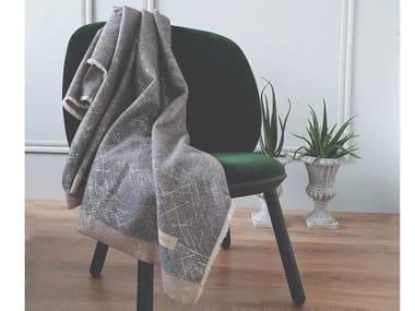 Coperta lavorata a mano in lana merino FROST | Coperta