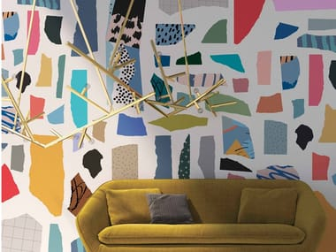 Motif vinyl wallpaper FS1.06