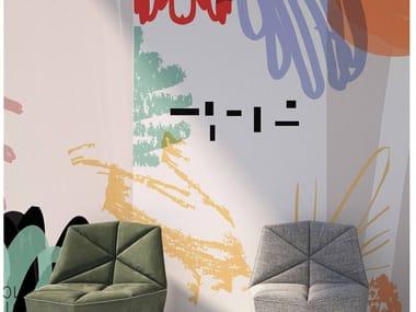 Motif vinyl wallpaper FS1.07