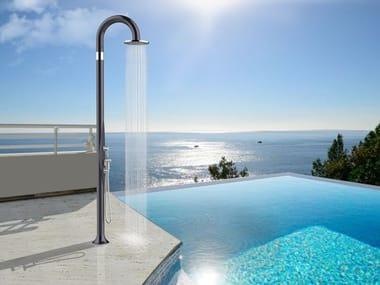 Polyethylene outdoor shower FUNNY YIN TOPLINE