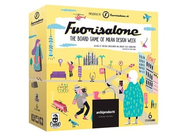 The Milan Design Week board game FUORISALONE | The board game