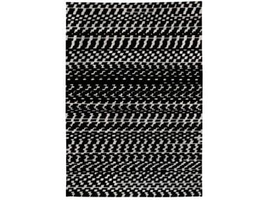 Tappeto in lana e cotone rettangolare a motivi geometrici FUORITEMPO