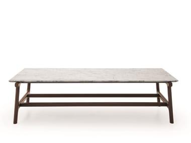 Rectangular marble coffee table FUSHIMI | Coffee table