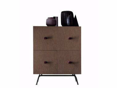 Solid wood highboard FUSION | Highboard