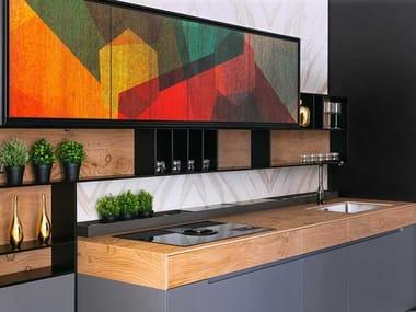 Linear custom kitchen FUSION