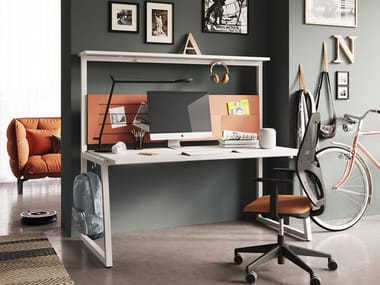 Workstation for home office FUSION | Writing desk