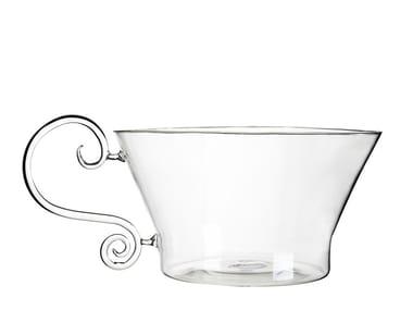 Borosilicate glass fruit bowl FUTILES | Fruit bowl