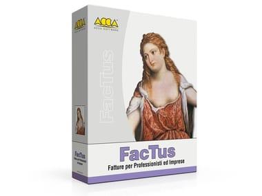 Fatturazione cartaceca ed elettronica FacTus