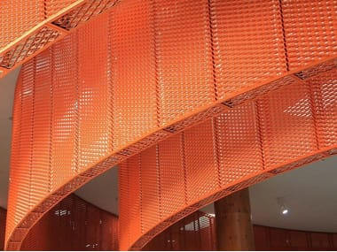 Expanded metal ceiling tiles False ceilings