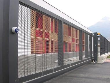 Industrial metal gate Fencing closures