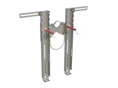 Staffa preassemblata per il fissaggio di WC e bidet sospesi Fischer PREMIUM
