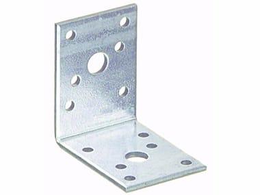 Piastra angolare semplice in acciaio zincato Piastra angolare semplice