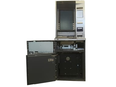 Night depository safes in the Flanked and Under ATM models Flanked and Under ATM safe
