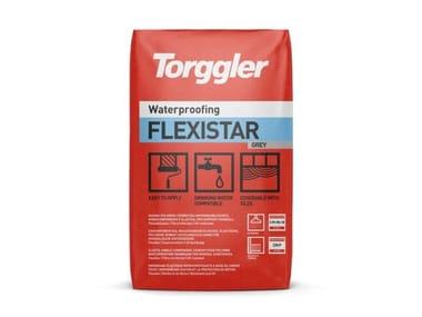 Guaina cementizia fibrorinforzata per l'impermeabilizzazione e la protezione del calcestruzzo Flexistar