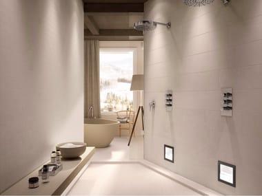 Pavimento/rivestimento in gres porcellanato effetto pietra MATRIX WHITE