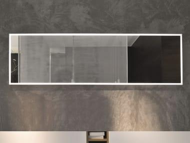 Framed mirror with integrated lighting Framed mirror