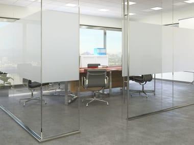 Pellicola per vetri adesiva decorativa OPACIZZANTE PLUS