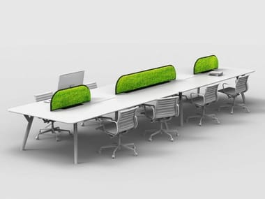 Sound absorbing Moss workstation screen desktop partition G-DESK