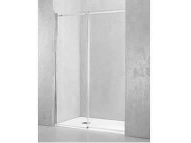 Box doccia a nicchia con porta scorrevole GA-PSC