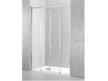 Box doccia a nicchia con porta scorrevole GA-PSC2
