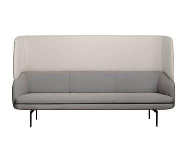 Sofa aus Stoff mit hoher Rückenlehne GABO | Sofa mit hoher Rückenlehne