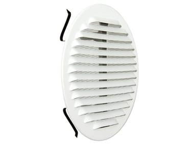 Griglia di ventilazione rotonda in metallo GABTU160R | Griglia di ventilazione